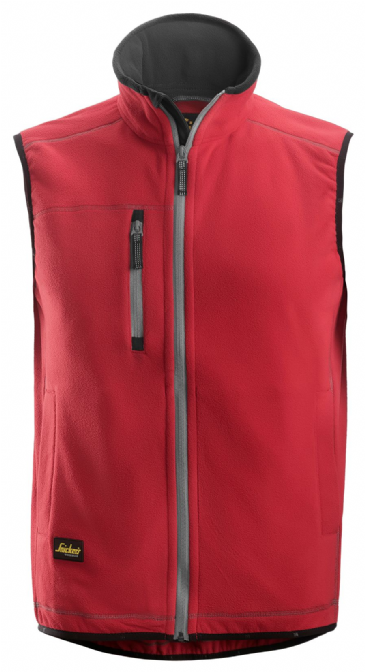 Snickers 8014 A.I.S. Fleece Vest (Chili Red)